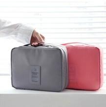 Encai New Style Travel Cosmetic Bag Organizer/Double Side Makeup Bag In Bag Handbag Organizer/Toiletries Bag Inserts