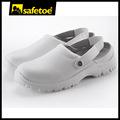 Blanco zapatillas de esd, de enfermería zuecos, doctor l-7096 deslizador