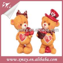 Lovely Bear Wedding Car Decoration Dolls for Love
