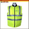 Fashion designer waterproof reflective workwear sleeveless padded vest mens