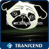 Die Cut Self-adhesive Waterproof Vinyl car window sticker