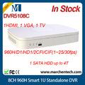precio barato nuevo dahua dvr5108c 8ch 960h inteligente 1u dvr independiente