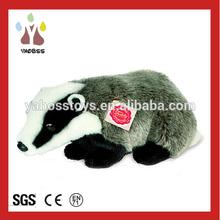 Factory direct Cute Plush Toy Funny Stuffed Animals / Custom Plush Toy Badger