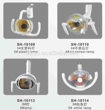 SH-10114 White cold lamp gnatus dental chair chinese dental chair