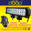 4x4 Led Light Bar for Trucks, 72W 12 inches Cree Off Road Led Light Bar