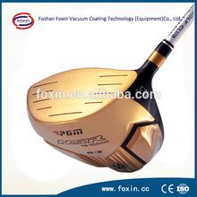 FOXIN- IP Series OEM Coating Service Golf Club Head Plating Gold Coating