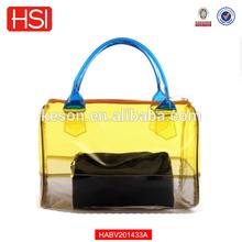 Hot Women's Shoulder Handbag Transparent PVC Beach Bags Fashion Crystal Jelly Packet