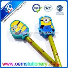 high quality animal shaped pen eraser