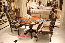 Metà- in stile orientale affascinante tavolo in legno di fine