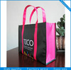 Hottest recycled pp woven shopping bag, pp woven tote bag,laminated shopping bag