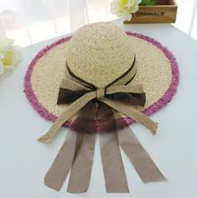women fashion straw hat for decoration wholesale