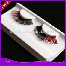 Ombre color false eyelash synthetic hair strip eyelash party eyelashes