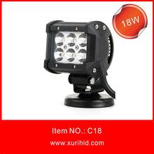 "4"" 9-32v cree 18W led light bar for atv,suv,trucks offroad driving light car led light bar"