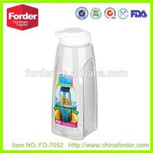 Popular 1.5L Plastic water pitcher