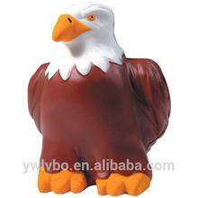 pu custom stress balls supplier Eagle shaped bird stress reliever Eagle stress ball