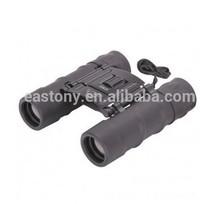 10 x 25mm Compact Folding Binoculars Rugged Armored Rubber Body