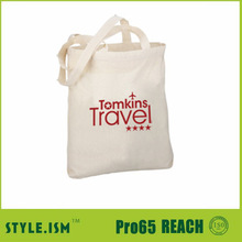 promotional recyclable shopping bag plain canvas tote bag