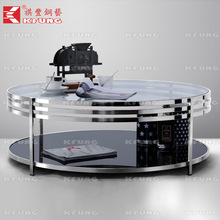 cheap tempered glass coffee table Delicate and beautiful coffee table