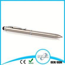 metal stylus touch pen normal roller pen design
