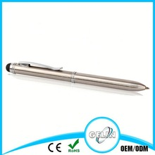 2 in 1 touch pen with custom logo engrave or printing