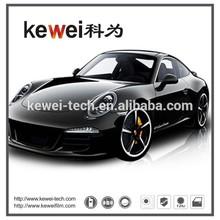 Korea PET material Self-adhesive grey automotive window tinted film ,Car window tint