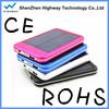 Portable Solar Charger for Camping , High Capacity 5000mAh Dual USB ports