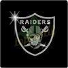 Football Raiders Iron On Rhinestone Transfer Designs, Hot Fix Motif Rhinestone For Clothing