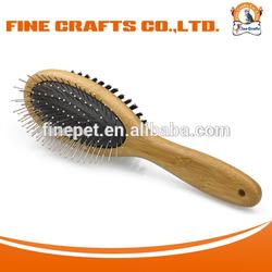 Carbonized Bamboo Combo Brush Pet Grooming