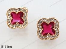 inspirational natural stone earring korea genuine