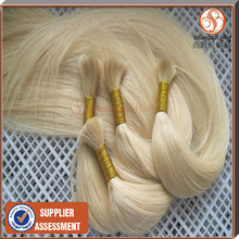Wholesale Grade AAAA no chemical all length blonde wholesale russian human hair bulk