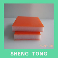 HDPE triple layers double color sheet decoration board from china