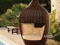 حار بيع 2014 الاستخدام العام الوسائد كرسي أرجوحة الحديقة الروطان