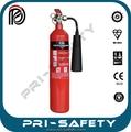 Ce& bs en3 aprobados extintor de incendios portátil de co2 del cilindro