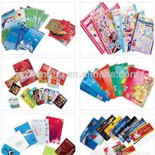 food & chemical use lamnated material plastic bag packaging color printing custom bag