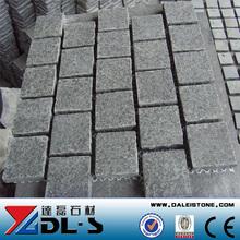 Black Basalt G684 Cube Paving Stone flamed,natural split competitive price
