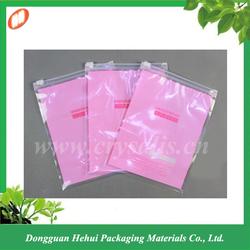 Custom zip lock plastic bag