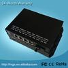 China manufacturer best price 4 port 10/100M ethernet poe switch 24v