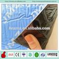 Superfície azul auto-adesivo de membrana de impermeabilização de coberturas de asfalto e alcatrão
