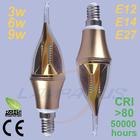 smd led modern lighting led candle lights bulb lamp spotlight e14 socket 3w/6w/9w best price