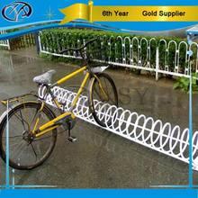four bicycles storage rack