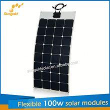 Sungold PV Module Manufacturers flexible solar panels 250w cfl
