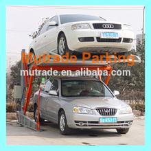 Two Post Tilting Car Parking Lift car parking system program