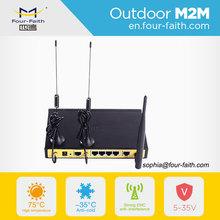 F3B32 Industrial wifi din rail mounting dual sim 3g modem vpn dual sim for M2M control