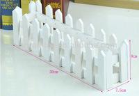Hot sale types of mini flower wooden fences/models of wooden fences designs(AM-FP020)