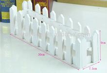 Venda quente tipos de mini flor de madeira cercas / modelos de cercas de madeira designs ( AM-FP020 )