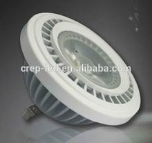 Anti-glare Lens AC/DC12V G53 base 12w 1000lm LED spot light AR111 replace 70W halogen lamp.