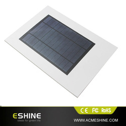 LI-ION polymer battery fexible solar panel charger , ad paper charger solar panel