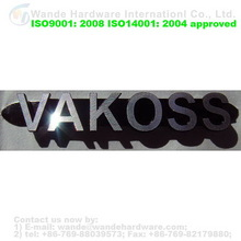 High Quality Promotional Wholesale Furniture Metal Logo Plate