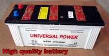 N220 12v220ah de la batería planta de fabricación de 12 volt batería de coche todo tipo de pilas secas