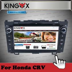 8 inch HD TFT screen dvd radio for honda crv right system stereo multimedia navigation with 3G 720P IPOD DVD DVB-T